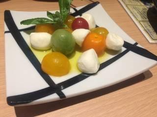 【北海道産】カラフルトマトの水玉カプレーゼ