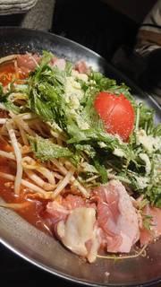 絶品トマトのチーズ鍋