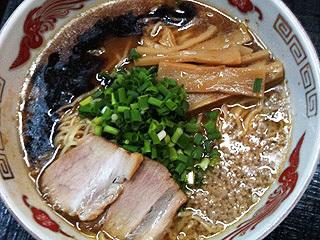 爆菜らー麺