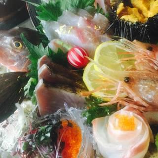 欅~朝獲れ鮮魚の盛込み
