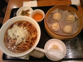 酸辣湯麺ランチセット