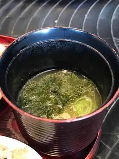 比内地鶏のスープ