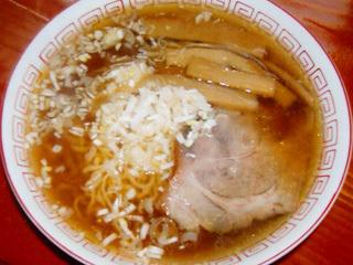 醤油拉麺(正油ラーメン)