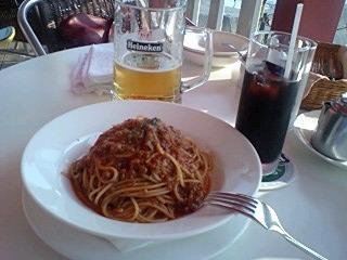 自家製ミートソーススパゲッティ