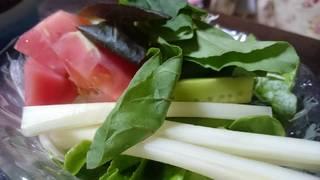 フレッシュトマトのサラダ