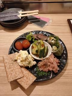 野菜肉巻きスタンダードコース