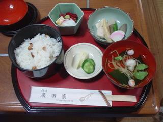豆めし定食