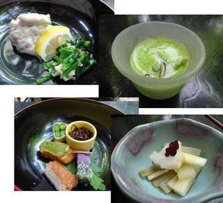 精進鉄鉢料理(あやめ)