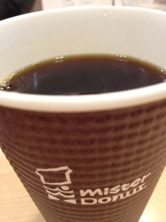 ミスドプレミアムブレンドコーヒー