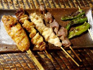 串焼き盛合せ(5種)