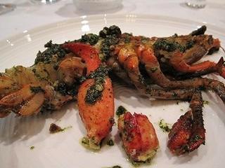 オマール海老の香草スパイス風味