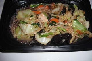 ニラたっぷり野菜炒め