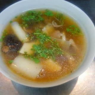 花山椒の牛スジスープ