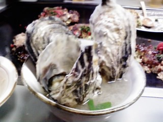 牡蠣のみそ汁