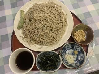 もり蕎麦(2020 新そば)