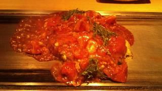 美肌豚のトマトお好み