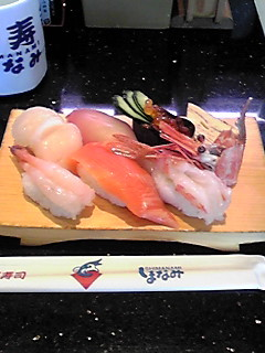 寿司盛り合わせ
