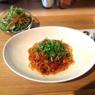 淡路タコのトマトソーススパゲティ