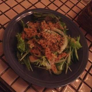 カレーセットのサラダ