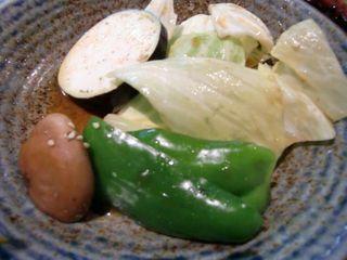 野菜焼き 盛り合わせ