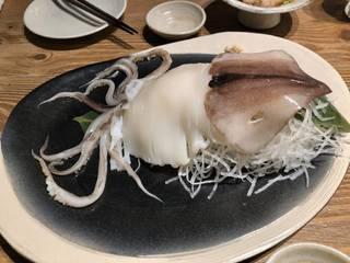 特選 北海道産のイカ刺し