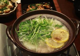 知床鶏のゆず塩鍋