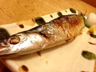 新秋刀魚焼き