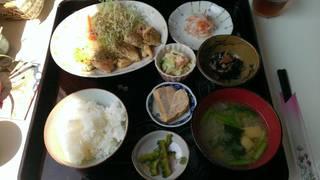 斉連茶屋定食