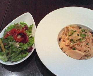 春野菜のスパゲッティー