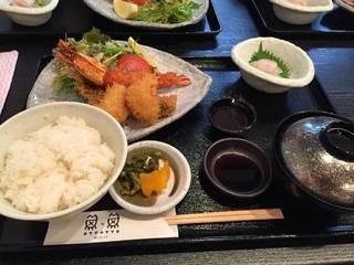 海鮮ミックスフライ定食