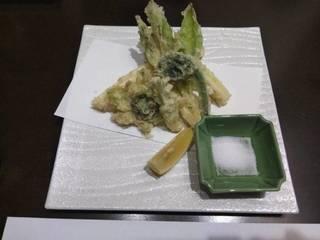 揚物(山菜天麩羅)