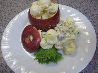 りんごのサラダ