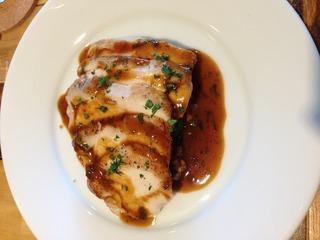 鶏むね肉のソテー