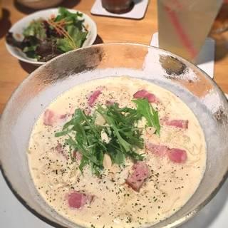 Cold イタ麺(カルボナーラ)