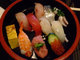 握り寿司ランチ