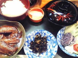 手羽煮定食