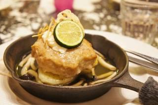 豆腐と根野菜の和風ハンバーグ