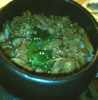 土鍋炊きとり飯