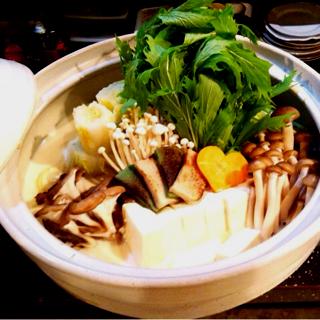 3H飲み放題付3980円プラン 春の京野菜と名物豆乳鍋を楽しむコース