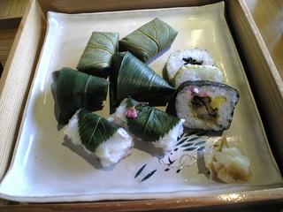 ゐざさ寿司盛り合わせ