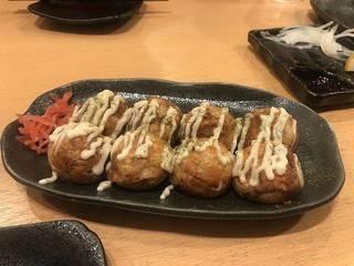 たこ焼き(ショウガ醤油味)