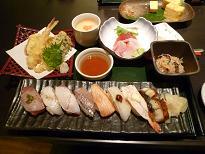 特上炙り天ぷらランチ