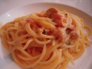 生うにのスパゲッティ