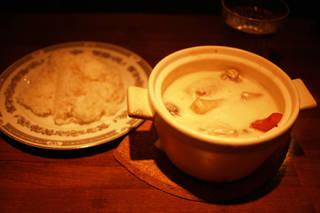 鶏肉と彩り野菜のクリームシチュー