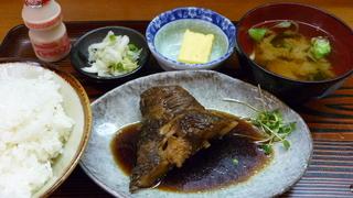 煮魚(銀ムツ)定食