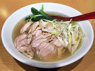 鶏肉ネギ麺