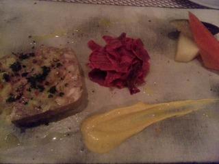 豚肉と色々お肉のパテドカンパーニニュ