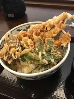 大海老野菜天丼