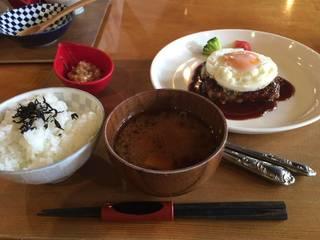 アボカドハンバーグ定食