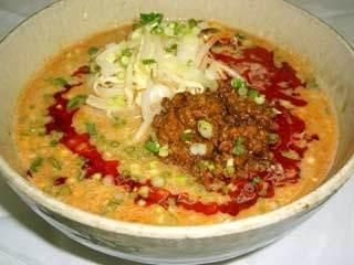 四川白ゴマ坦々麺